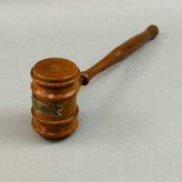 White House Wood Gavel, c. 1950