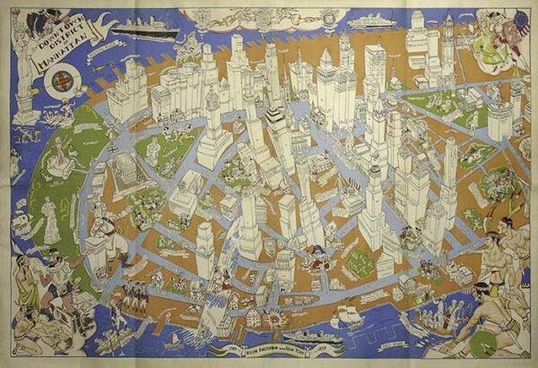 Zaidenberg NYC map