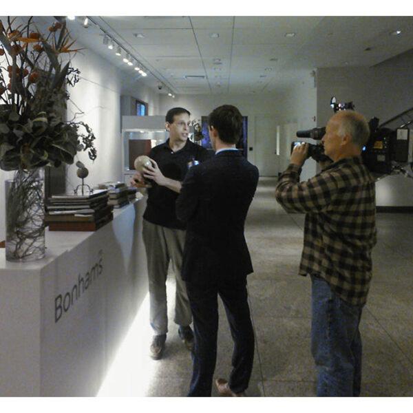 George Glazer on Fox TV News, New York City, 2014