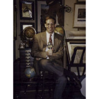George Glazer on Fox TV News, New York City, 1996