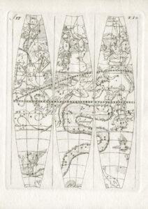 Celestial globe gores