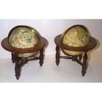 Pair of Joslin 6-Inch Globes