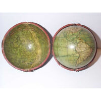 Lane's Improved Pocket Globe 3-Inch Terrestrial Globe in Celestial Case