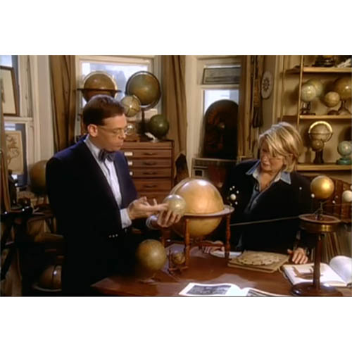 George on Martha Stewart Living TV show 1999