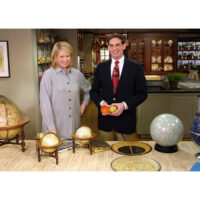 Martha Stewart and George Glazer on Martha Stewart Living, 2001