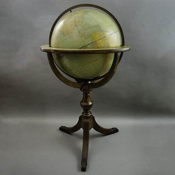 Rand McNally & Company 18-Inch Terrestrial Floor Globe