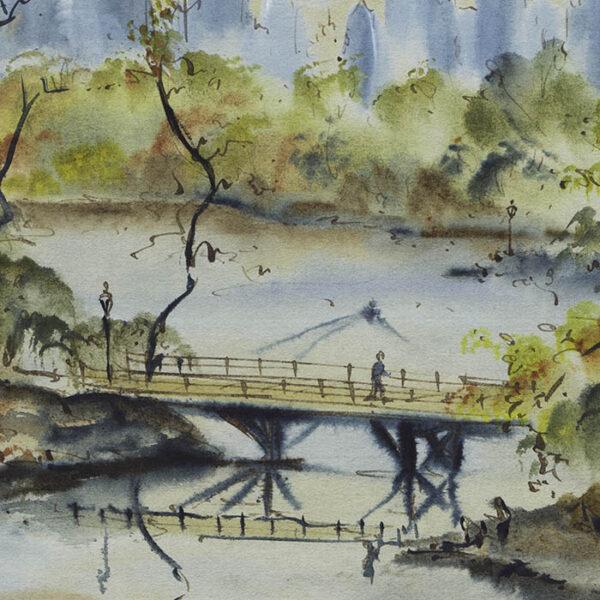 Central Park — Ah! New York, detail