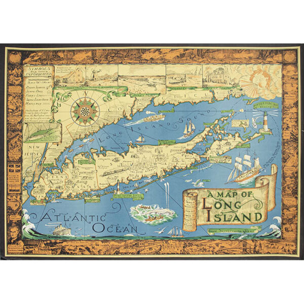 A Map of Long Island