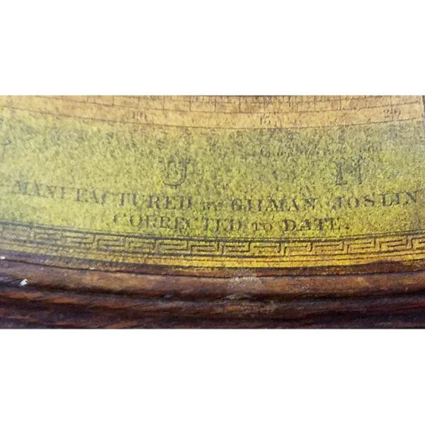 Joslin 16-Inch Parlor Globe, detail