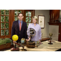 Martha Stewart and George Glazer on Martha Stewart Living, 2002