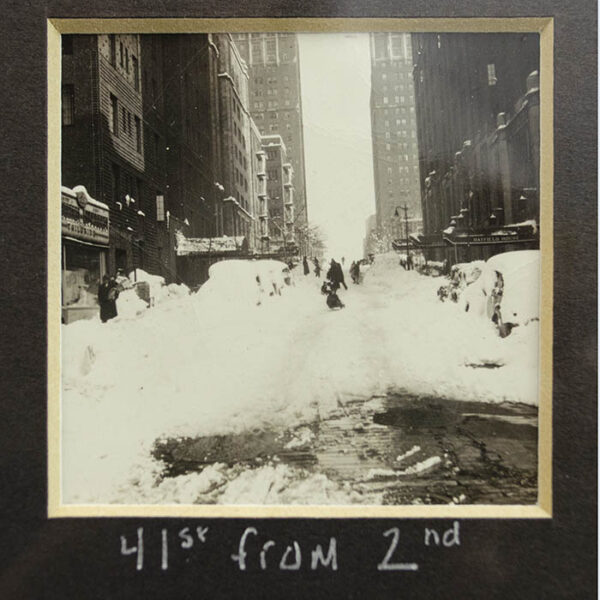 The Blizzard of 1947, New York City