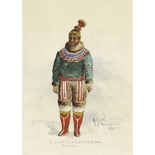 Danish Greenland Eskimo, Female [Inuit Woman]