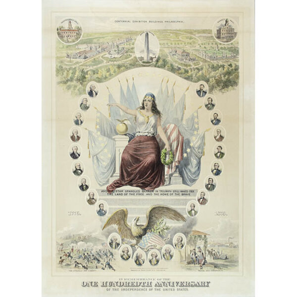 In Remembrance of the One Hundredth Anniversary of the Independence of the United States