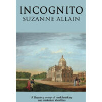 Incognito book cover with engraving of Castle Howard