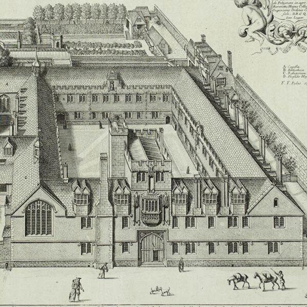 Collegium Corporis Christi [Corpus Christi College], detail
