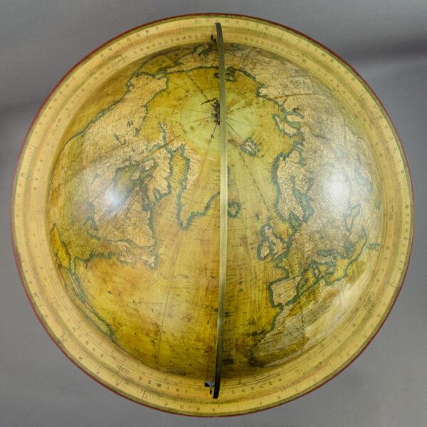 C. Smith & Son 18-Inch Terrestrial Floor Globe, detail