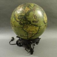 Hungarian 9.5-Inch Terrestrial Illuminated Globe