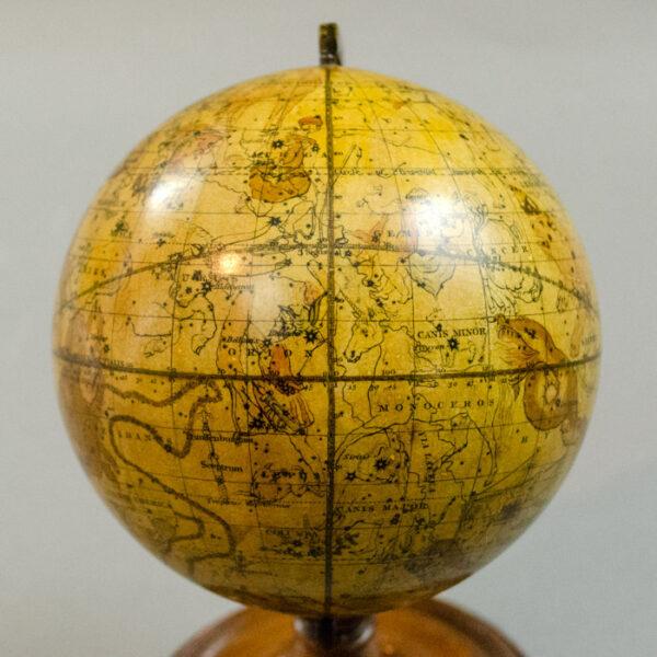 Newton 4.5-inch Celestial Globe, 1846, detail
