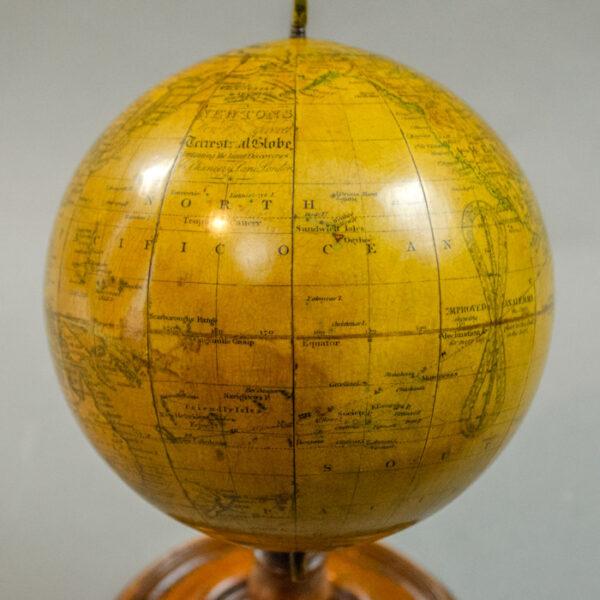 Newton 4.5-inch Celestial Globe, c. 1843, detail