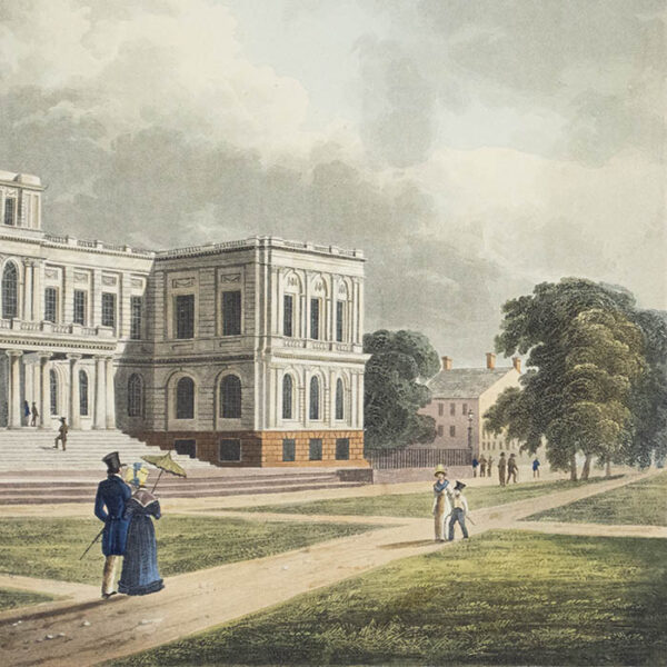 City Hall, New York City, 1826, detail