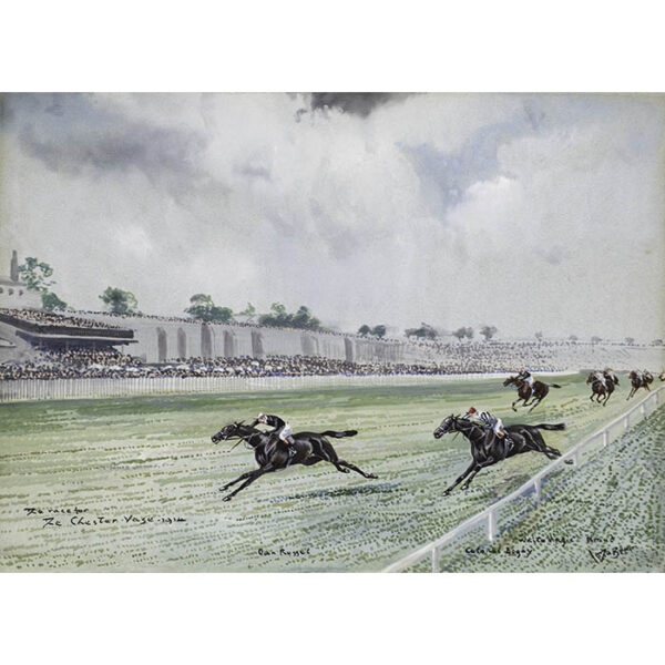 The Race for The Chester Vase — 1914