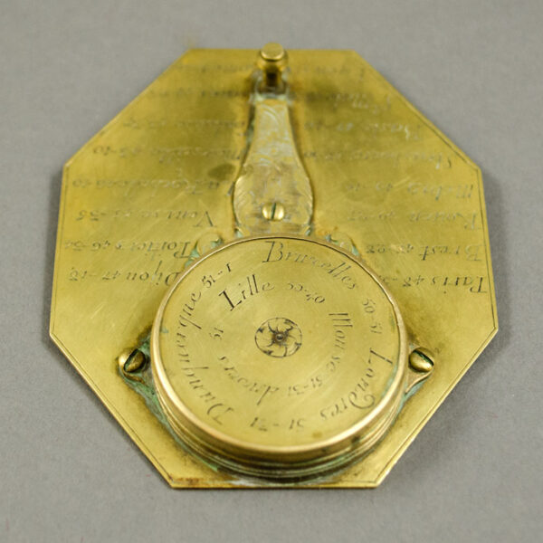 Pierre Le Maire II Butterfield Portable Horizontal Sundial