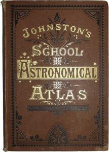 Johnston's School Astronomical Atlas, cover