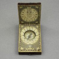 Negelein, Diptych Dial [Traveler's Portable Sundial Compass]