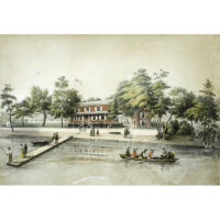 Tamany Fish House, on the Pea Shore, R. Delaware