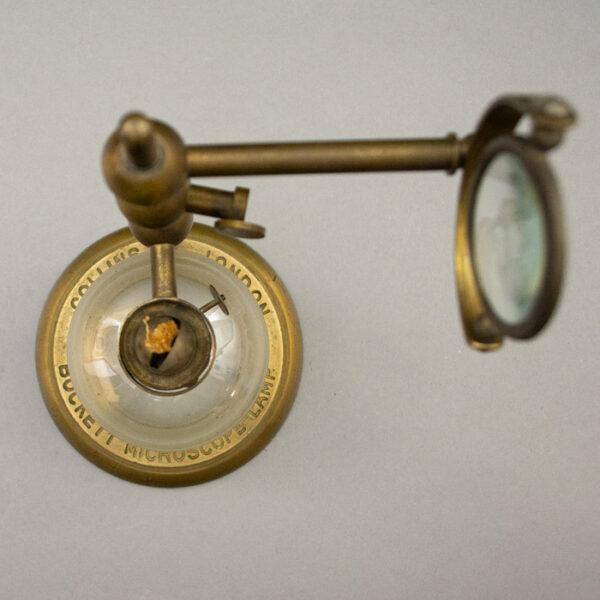 Bockett Microscope Lamp, detail