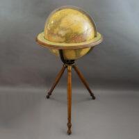 Gilman Joslin 16-Inch Terrestrial Tripod Floor Globe