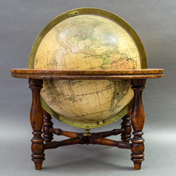 Franklin, Moore & Nims, Terrestrial World, 10-Inch Table Globe