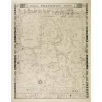 Jo Mora, Yellowstone pictorial map