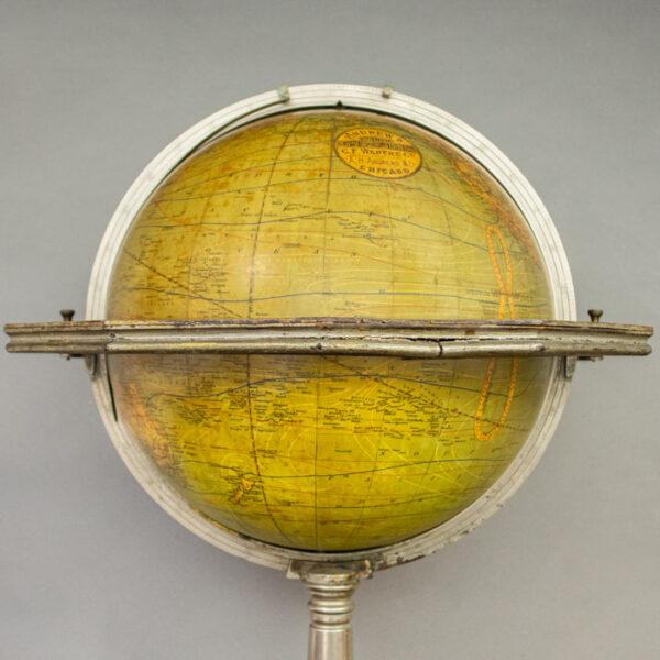 C.F. Weber & Co. Andrew's 12-Inch Floor Globe, detail