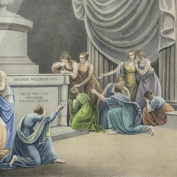 Apotheosis of George Washington, detail