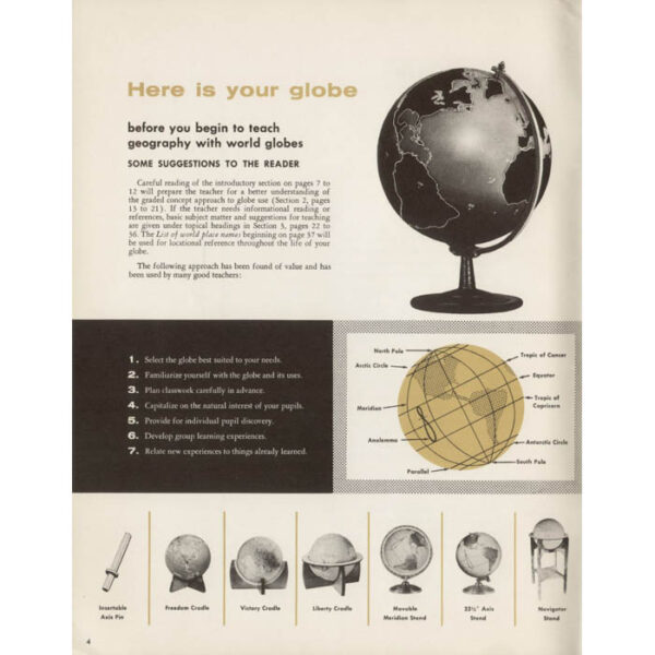 Successful Teaching with Globes, p. 6