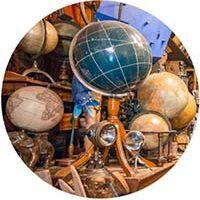 George Glazer Gallery Globe Guide