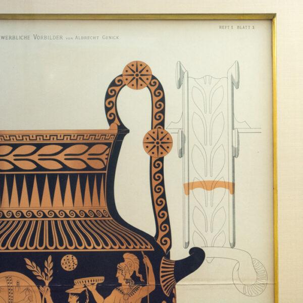 Genick, Kunstgewerbliche Vorbilder, Book 1, Plate 3, detail