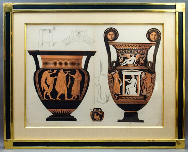 Genick Framed Vases