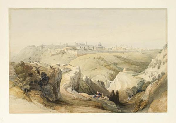 Roberts View of Jerusalem