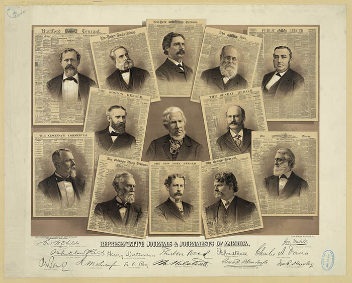 Representative Journals and Journalists of America