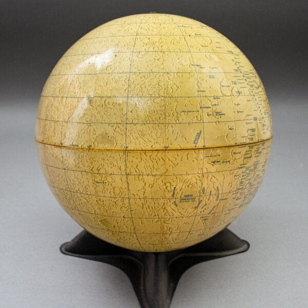 Weber Costello 12-Inch Moon Globe, detail