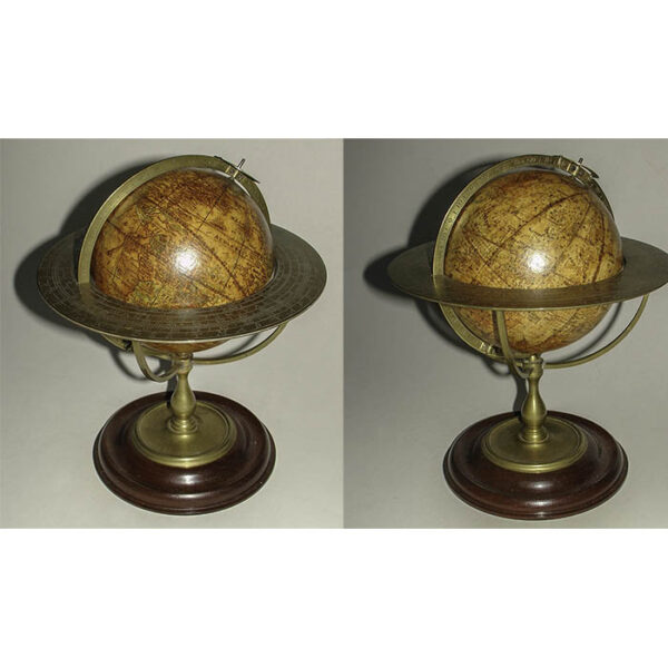 Thomas Whitty, Jr., Pair of 7-Inch Terrestrial and Celestial Globes
