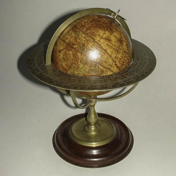 Thomas Whitty, Jr., 7-Inch Terrestrial Globe